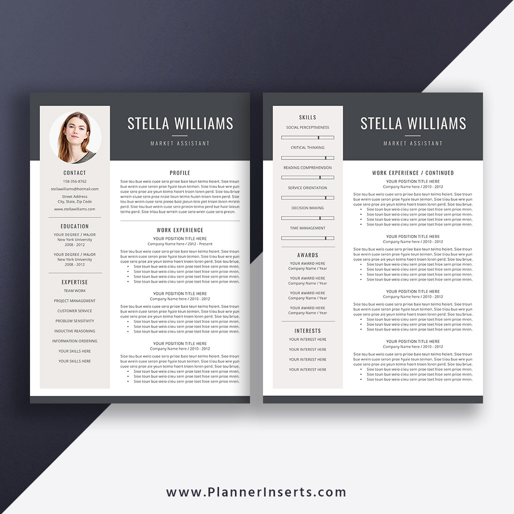 2019-2020 Resume Template for Creating Student Resume ...