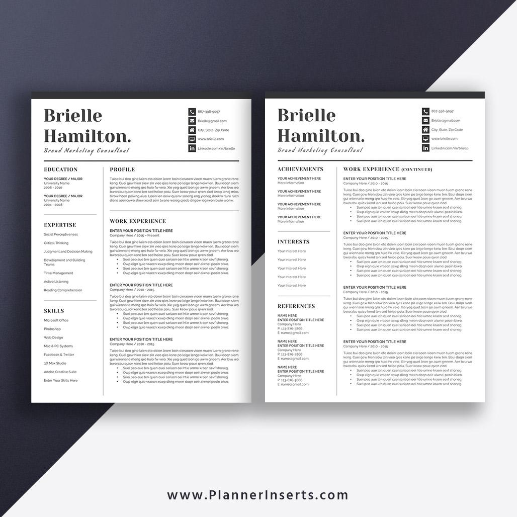 unique cv template design  professional cv layout  cover