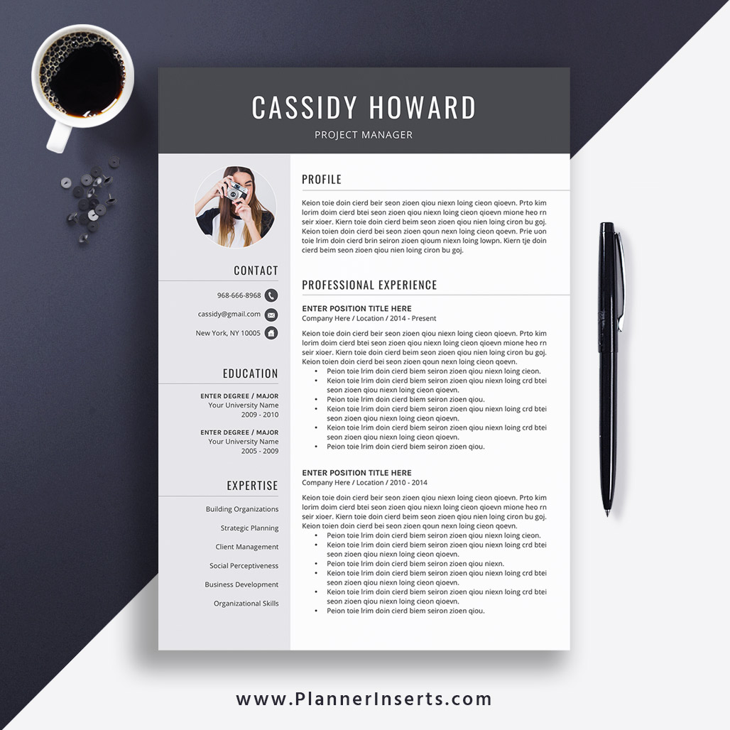 2020 Unique Resume Template Word Cv Template Cover Letter Mba Resume Executive Resume Experienced Professionals Resume Stem Resume Veteran