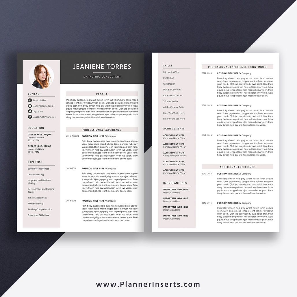 Best Resumes 2020.Best Selling Resume 2020 Cover Letter Professional Cv Template Word Resume Editable Resume Modern Creative Resume 1 3 Page Job Winning Resume