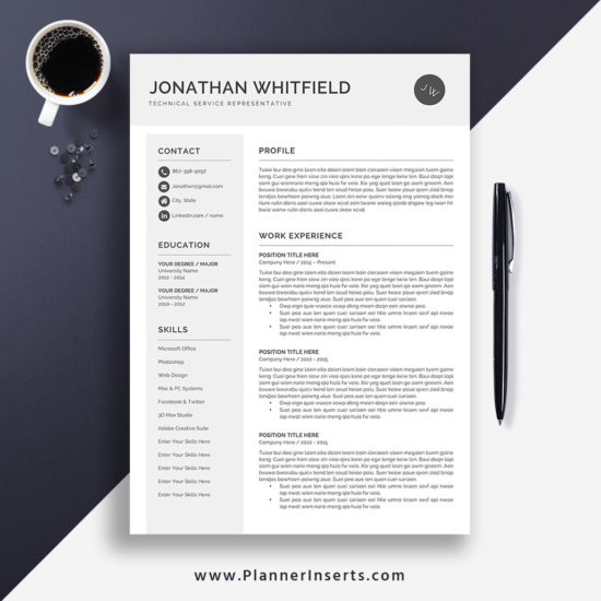 Best Resume Writing Service 2020.Cv Templates Without Photo Plannerinserts Com