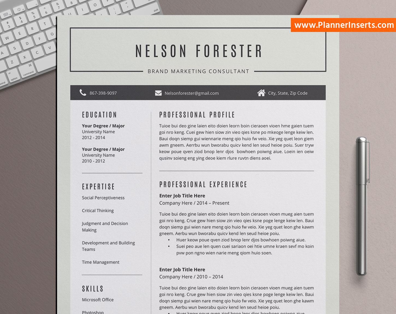 professional cv bundle  modern cv templates  1