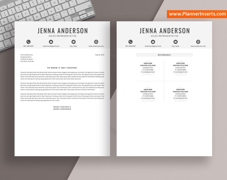 professional cv template word  curriculum vitae  cover