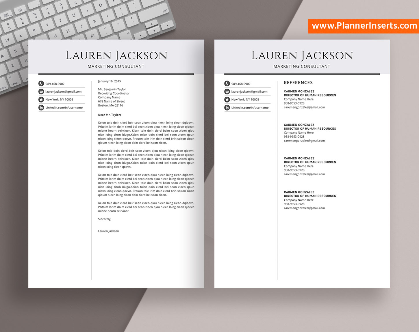 Resume Templates For Experienced Professionals Trinity